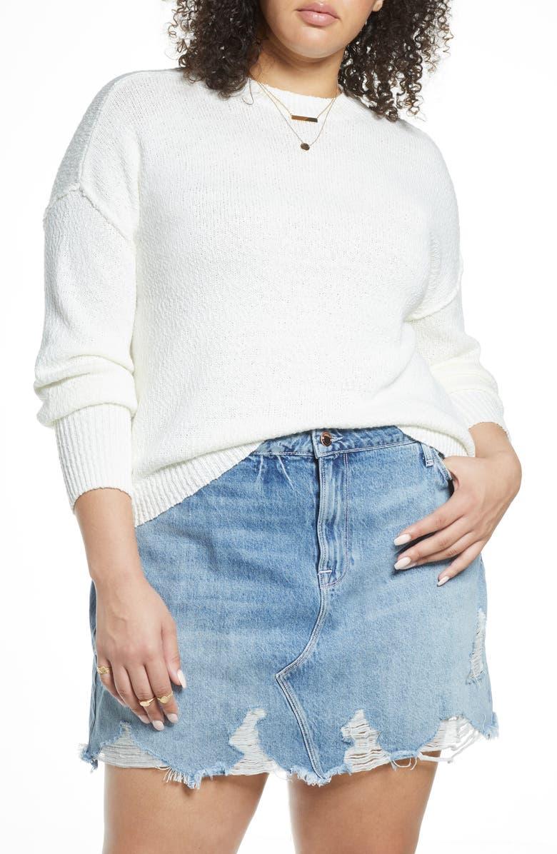 BP. Drop Shoulder Sweater, Main, color, 900
