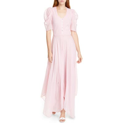 Loveshackfancy Coralie Maxi Dress, Pink