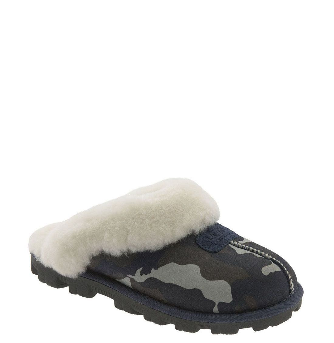 ,                             Genuine Shearling Slipper,                             Main thumbnail 121, color,                             400