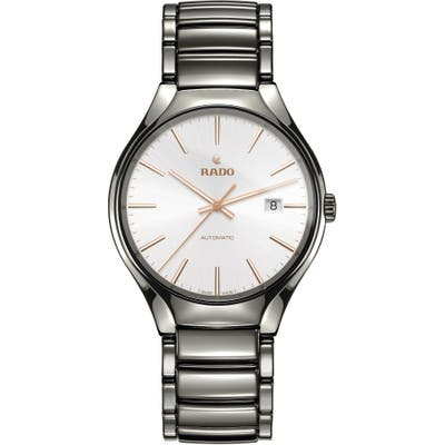 Rado True Automatic Ceramic Bracelet Watch, 40Mm
