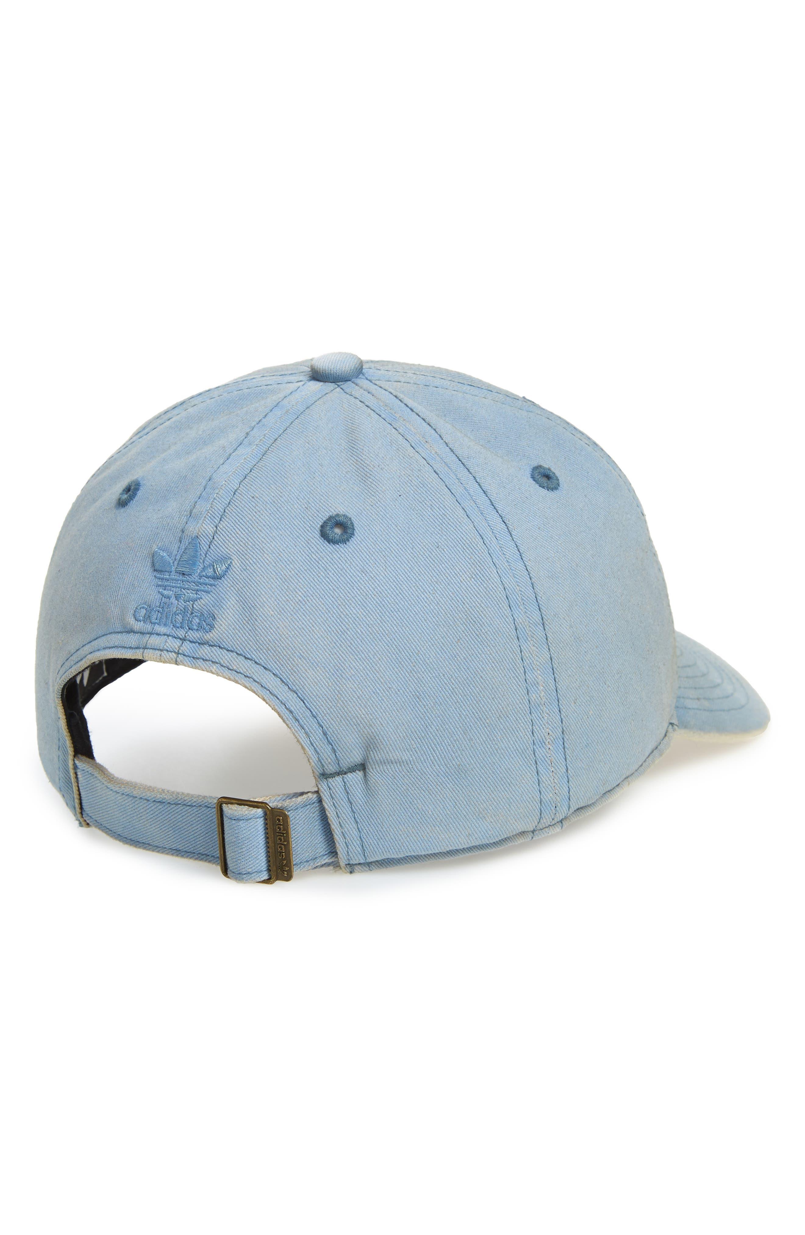 ,                             Originals Relaxed Overdyed Baseball Cap,                             Alternate thumbnail 2, color,                             TACTILE BLUE