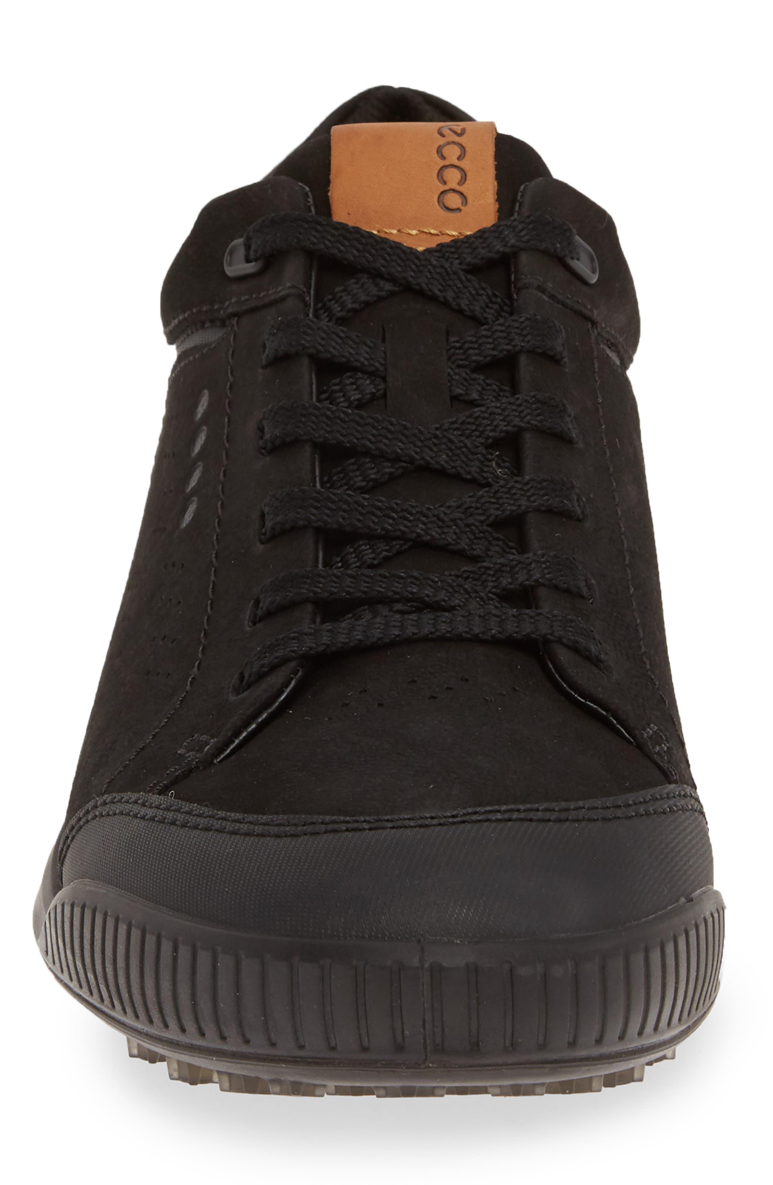 ,                             Street Retro LX Golf Shoe,                             Alternate thumbnail 4, color,                             BLACK LEATHER