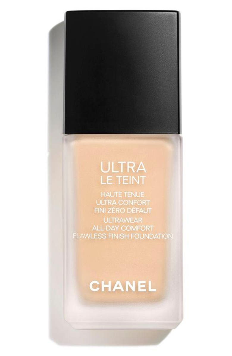 CHANEL ULTRA LE TEINT <br />Ultrawear All-Day Comfort Flawless Finish Foundation, Main, color, B20