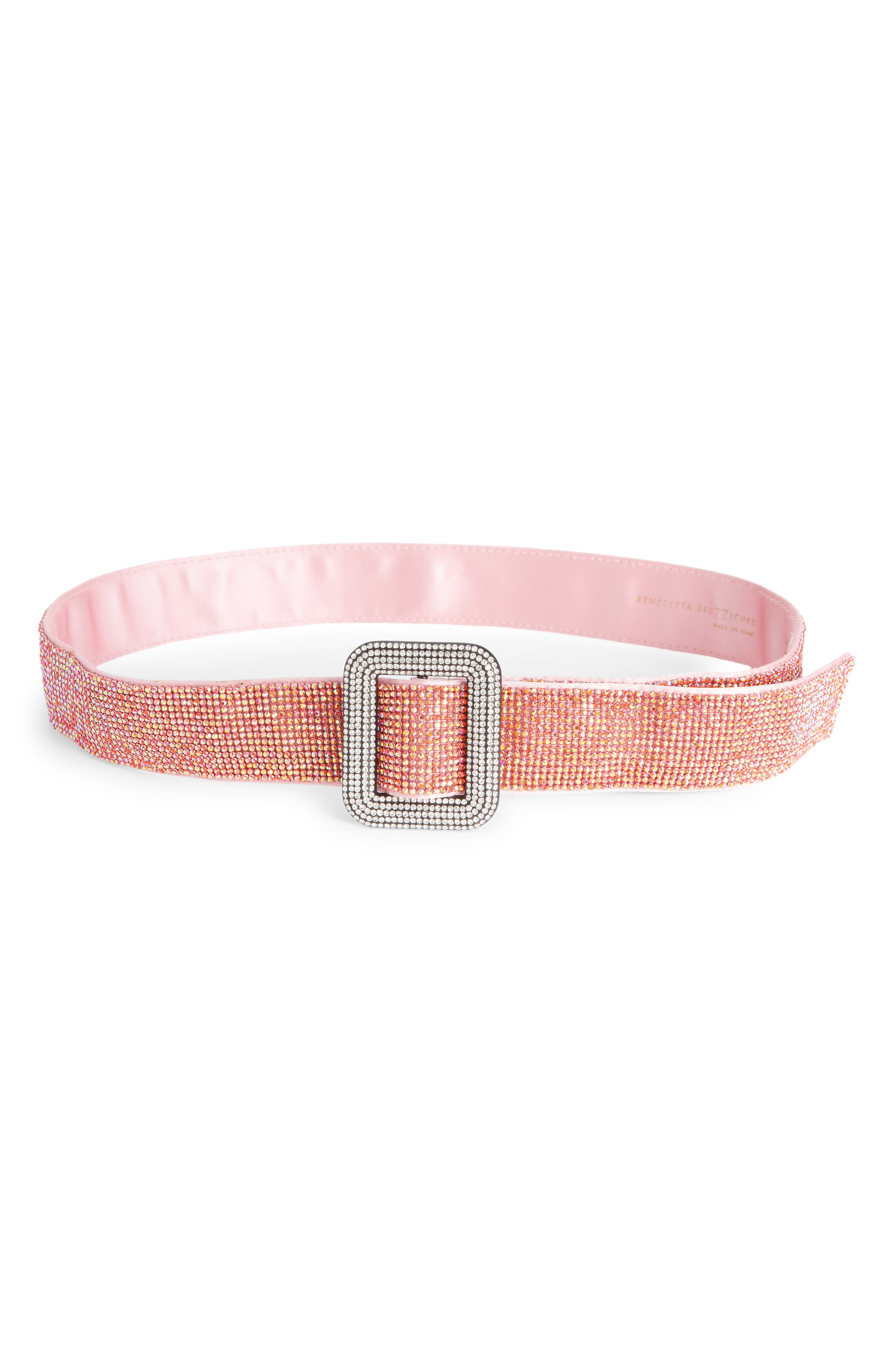 Crystal Mesh Belt