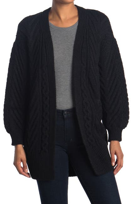 Image of TOPSHOP Nords Cable Knit Cardigan