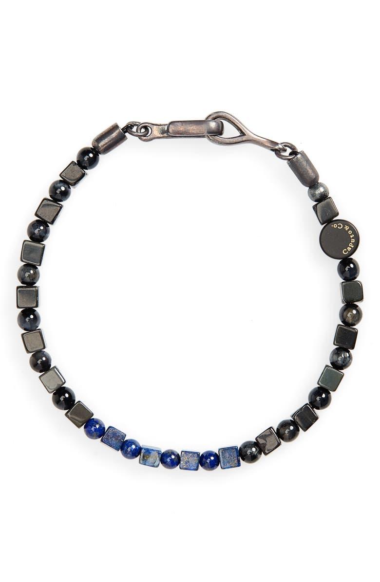CAPUTO & CO. Stone Bead Bracelet, Main, color, 025