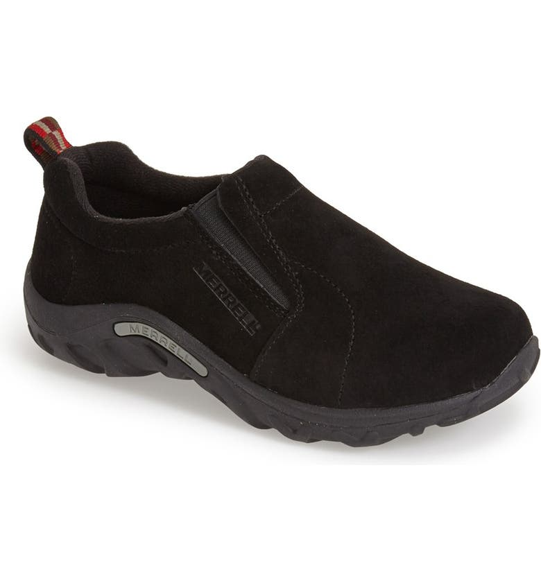MERRELL 'Jungle Moc' Slip-On, Main, color, BLACK