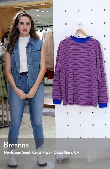 High Gauge Stripe Sweater T-Shirt, sales video thumbnail