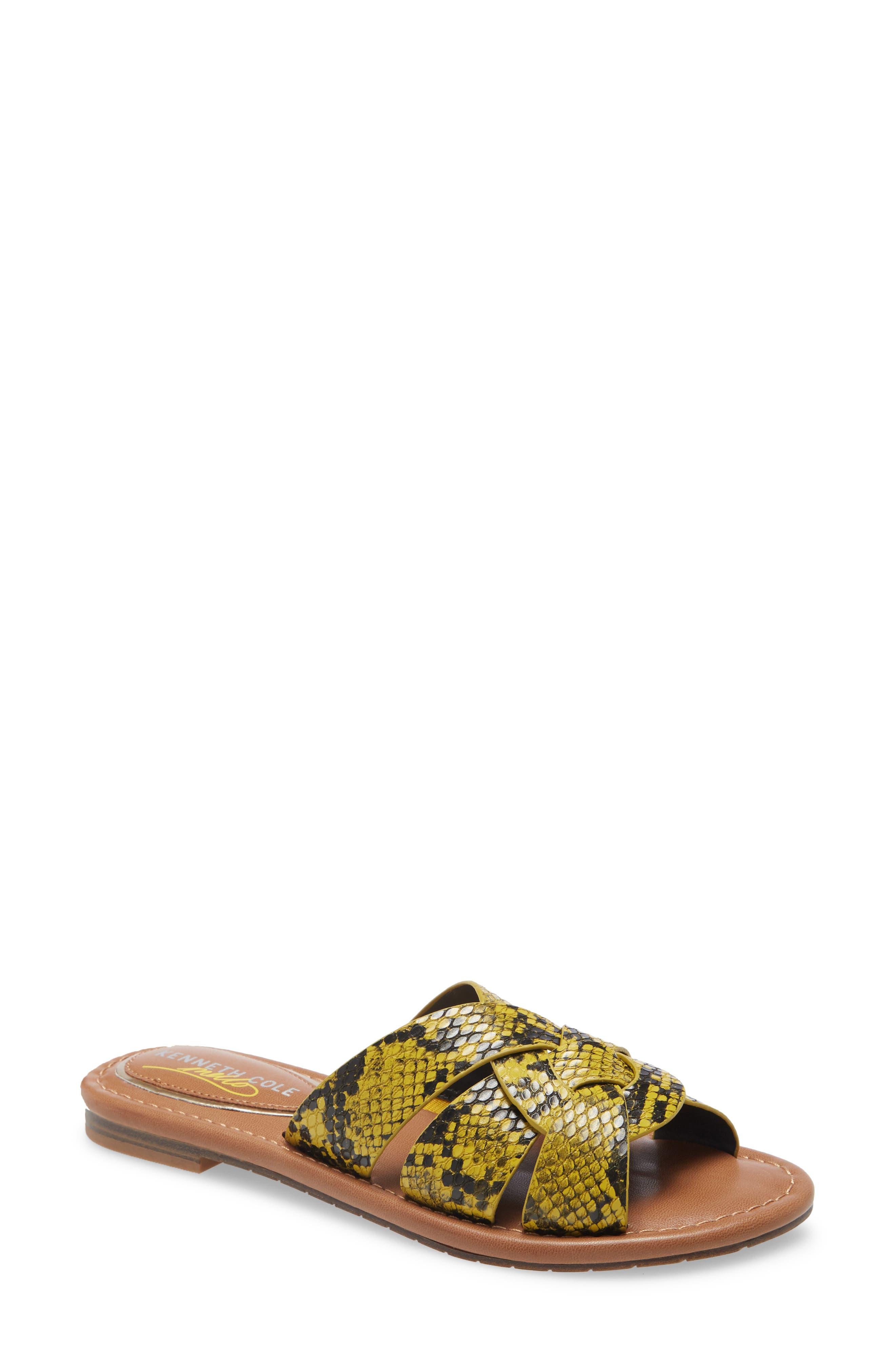 Mellow Swirl Slide Sandal