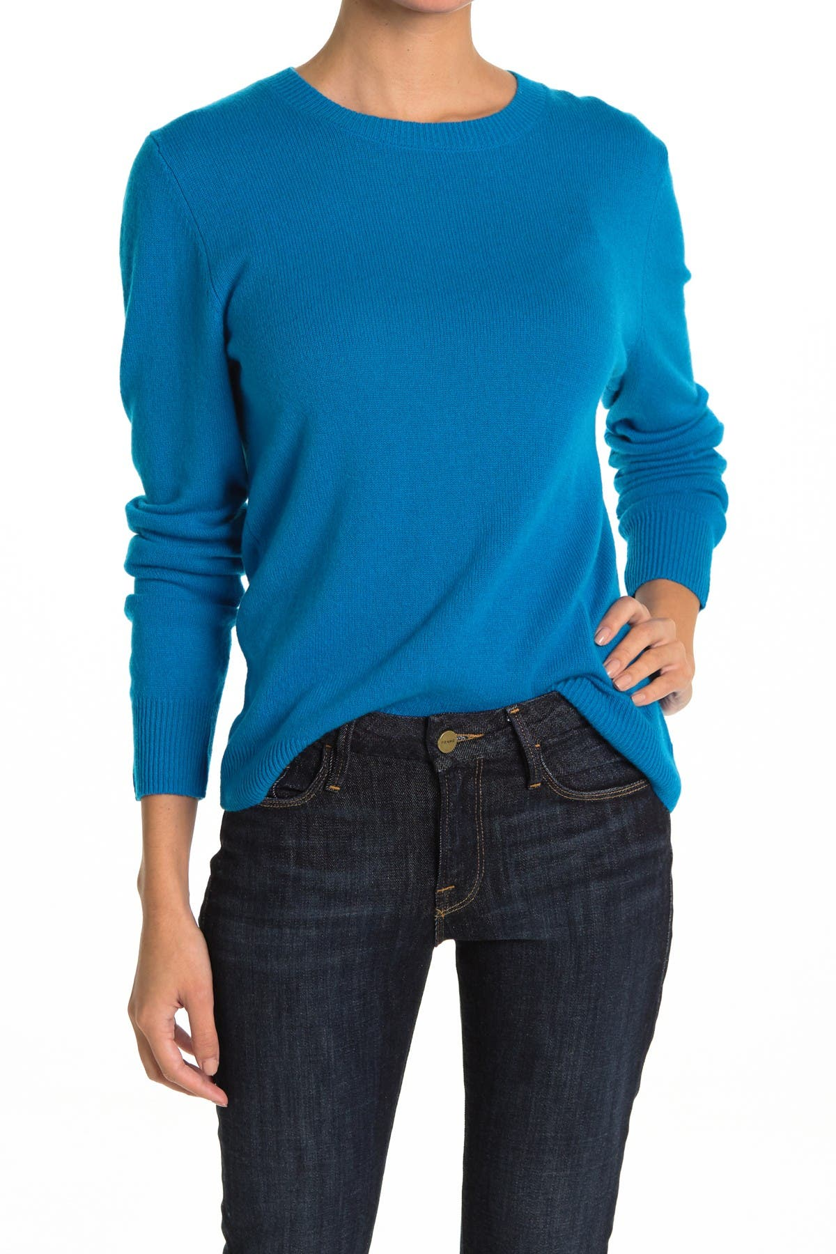 Image of 525 America Cashmere Crew Neck Pullover Sweater
