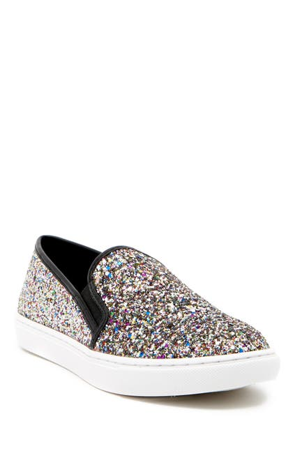 Image of Steve Madden Ecentrcg Glitter Slip-On Sneaker