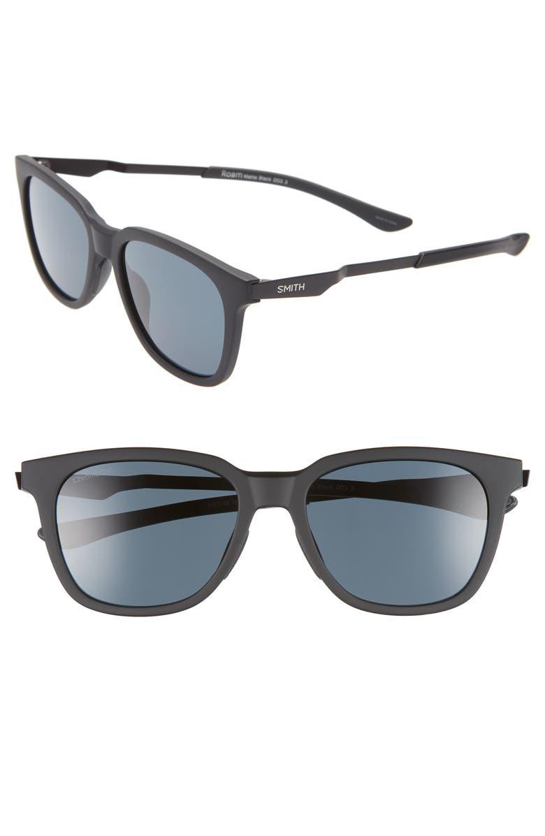 SMITH Roam 53mm ChromaPop<sup>™</sup> Sunglasses, Main, color, 001