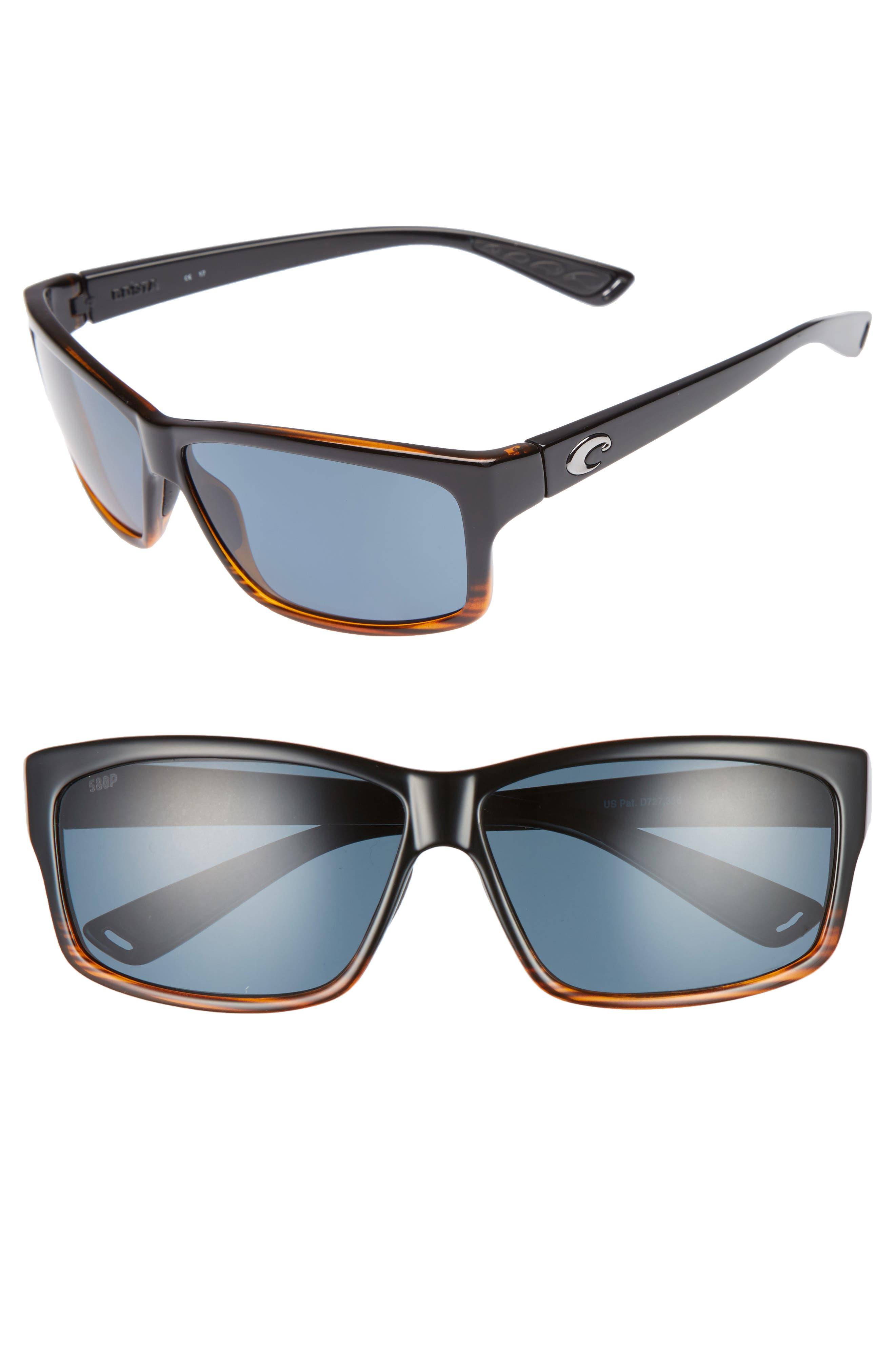 Cut 60mm Polarized Sunglasses