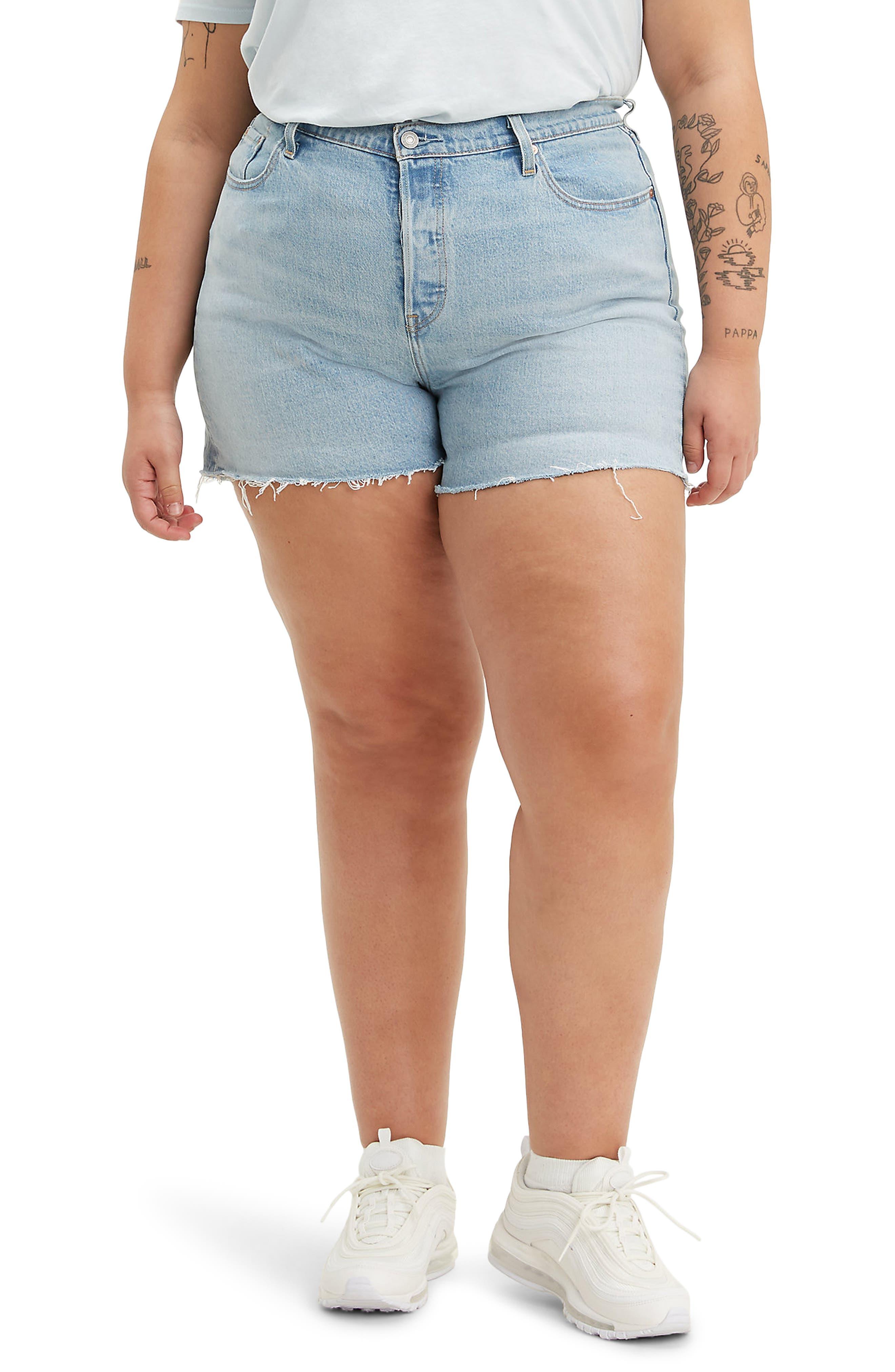 Plus Women's Levi's 501 Original Denim Shorts