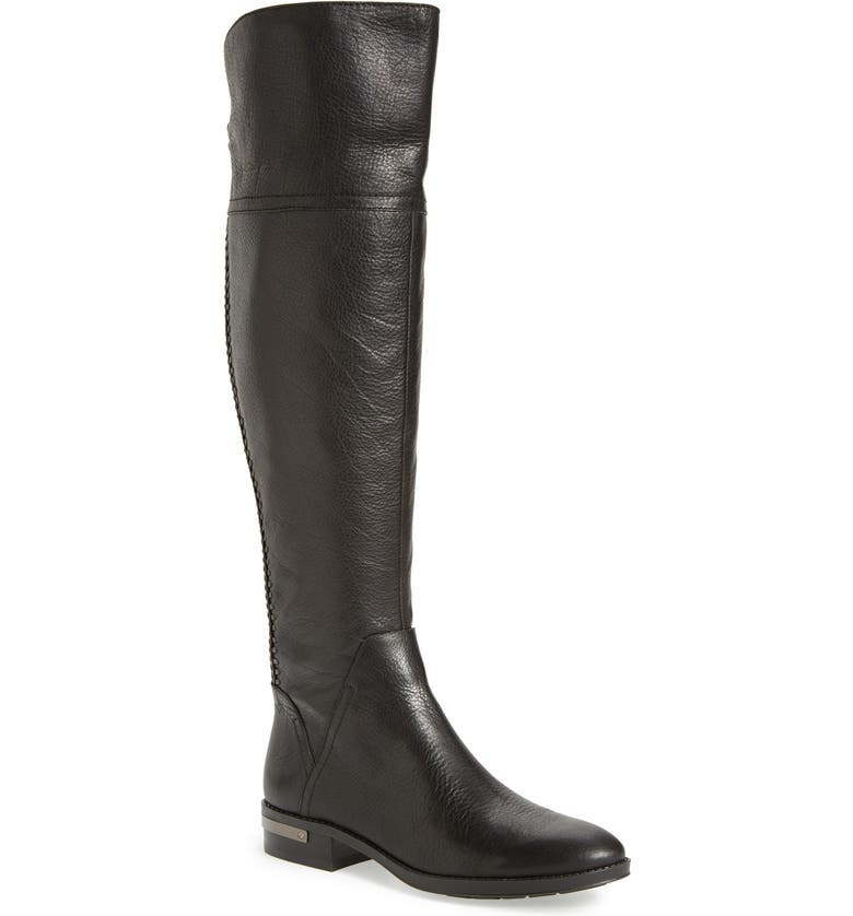 VINCE CAMUTO 'Pedra' Wide Calf Over the Knee Boot, Main, color, 001