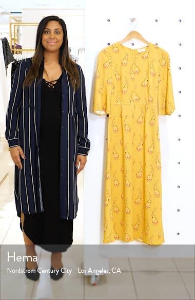 Kirsten Paisley Midi Dress, sales video thumbnail