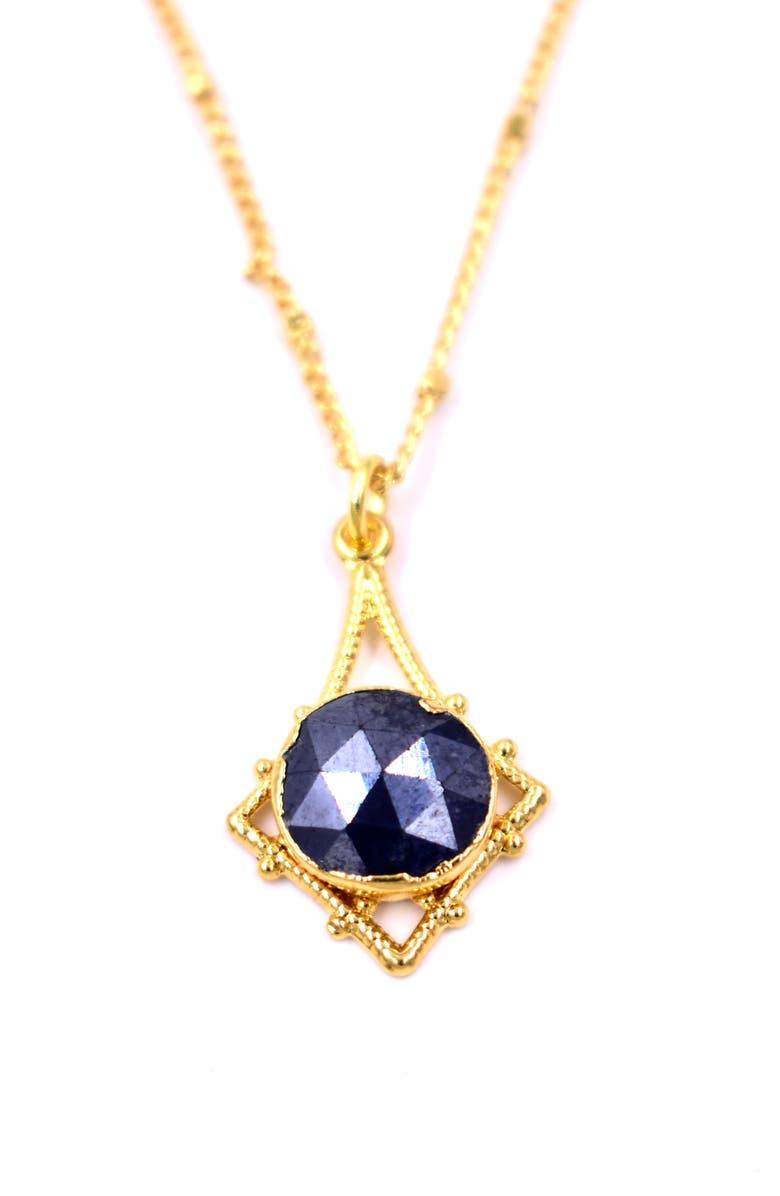 LUX DIVINE Silverite Pendant Necklace, Main, color, 710
