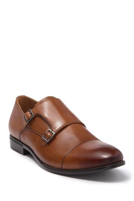 Image of Warfield & Grand Britten Double Monk Strap Dress Shoe