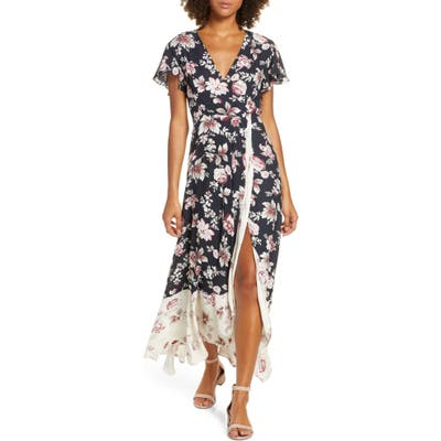 French Connection Aletta High/low Maxi Dress, Black