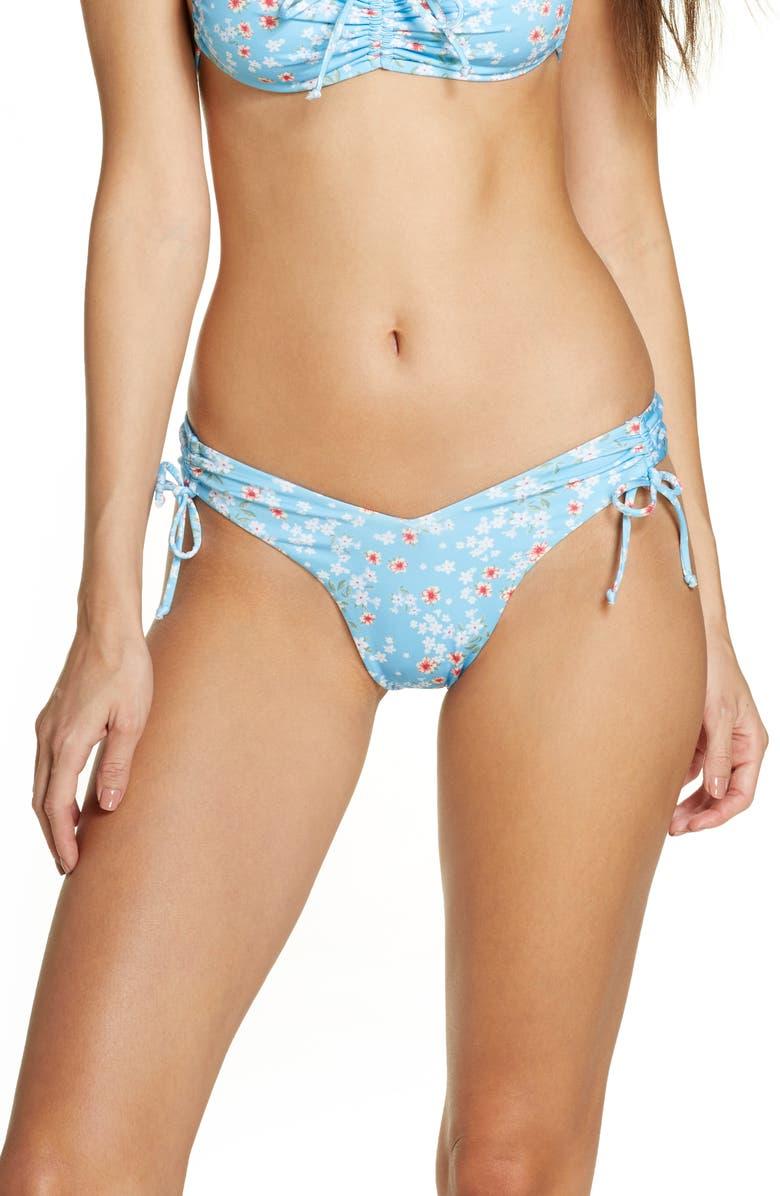 FRANKIES BIKINIS Reece Bikini Bottoms, Main, color, CALICO