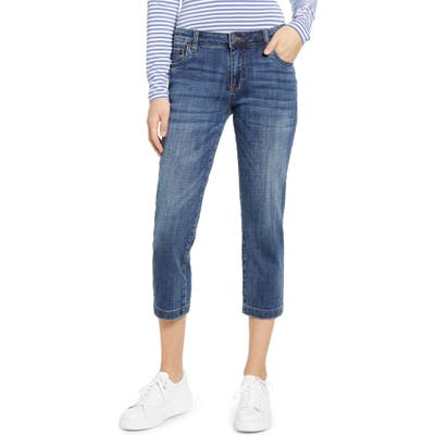 Kut From The Kloth Lauren Crop Jeans, Blue
