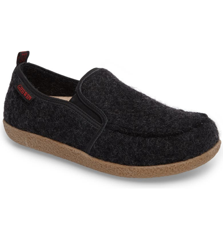 Innsbruck Boiled Wool Slipper