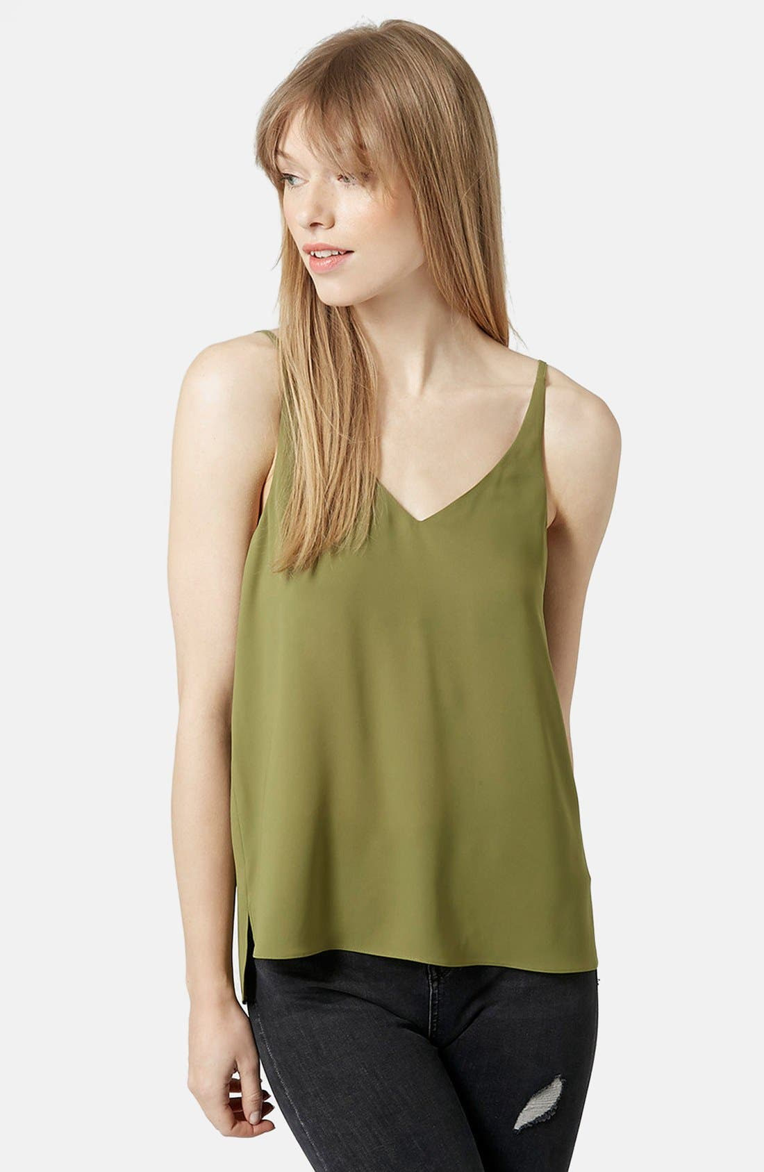 ,                             Strappy V-Neck Camisole,                             Main thumbnail 17, color,                             300