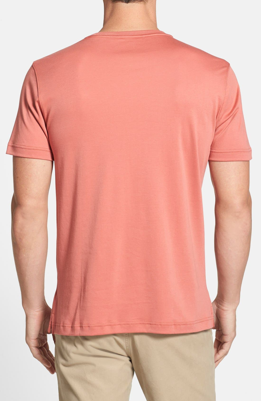 ,                             Georgia Crewneck T-Shirt,                             Alternate thumbnail 464, color,                             634