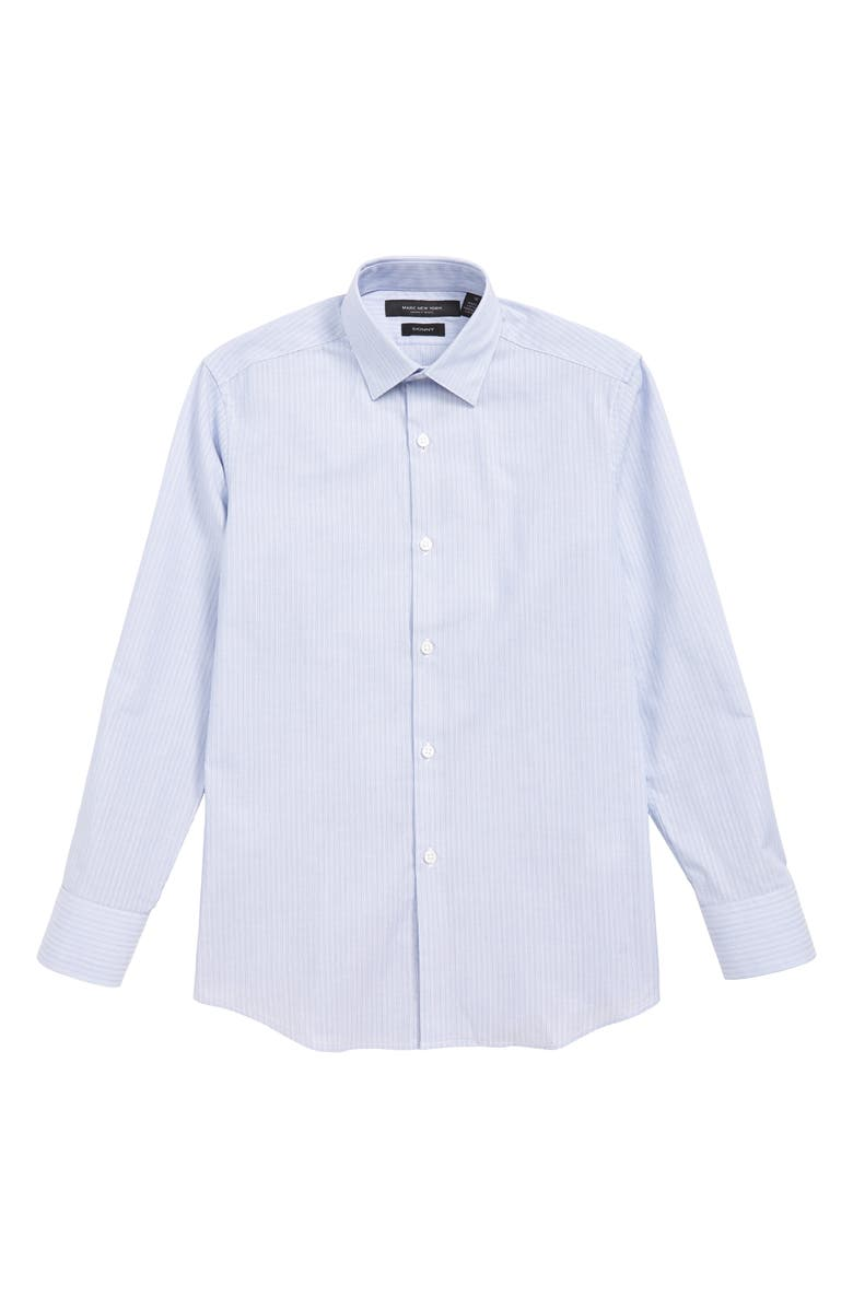 ANDREW MARC Stripe Dress Shirt, Main, color, 400