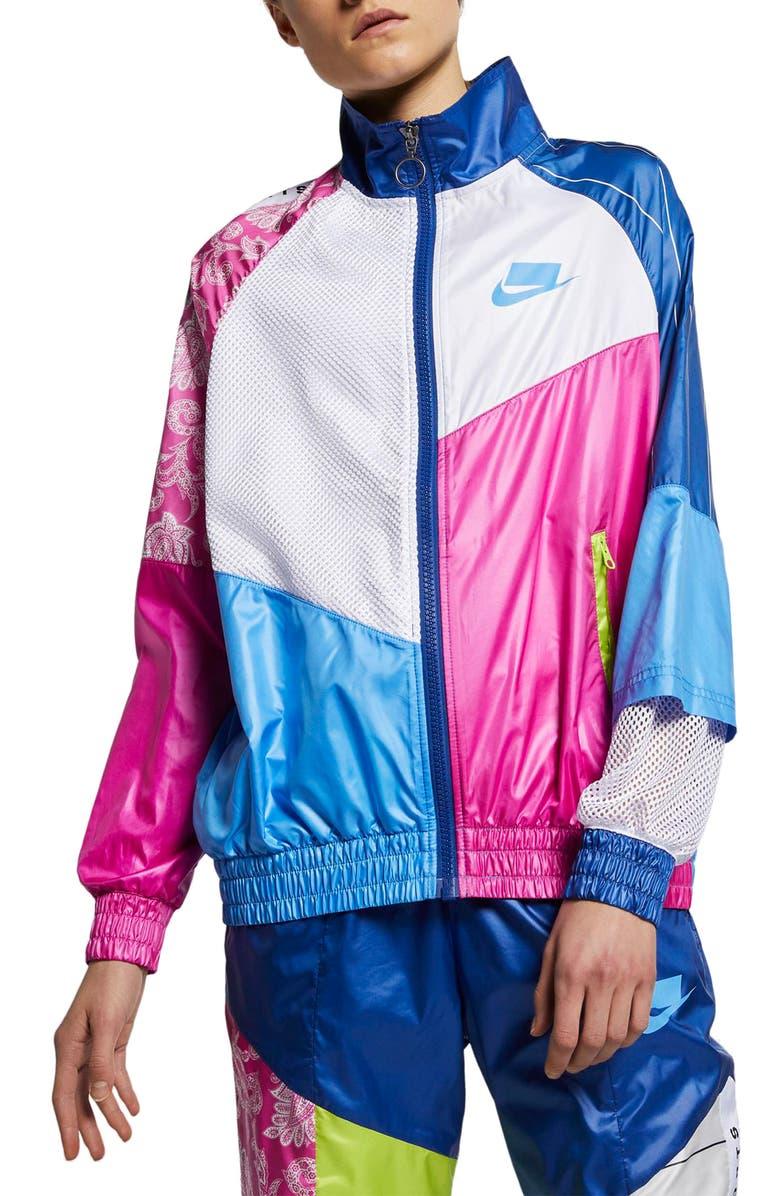 NIKE Sportswear NSW Women's Track Jacket, Main, color, UNIVERSITY BLUE