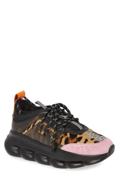 Versace Suedes CHAIN REACTION SNEAKER