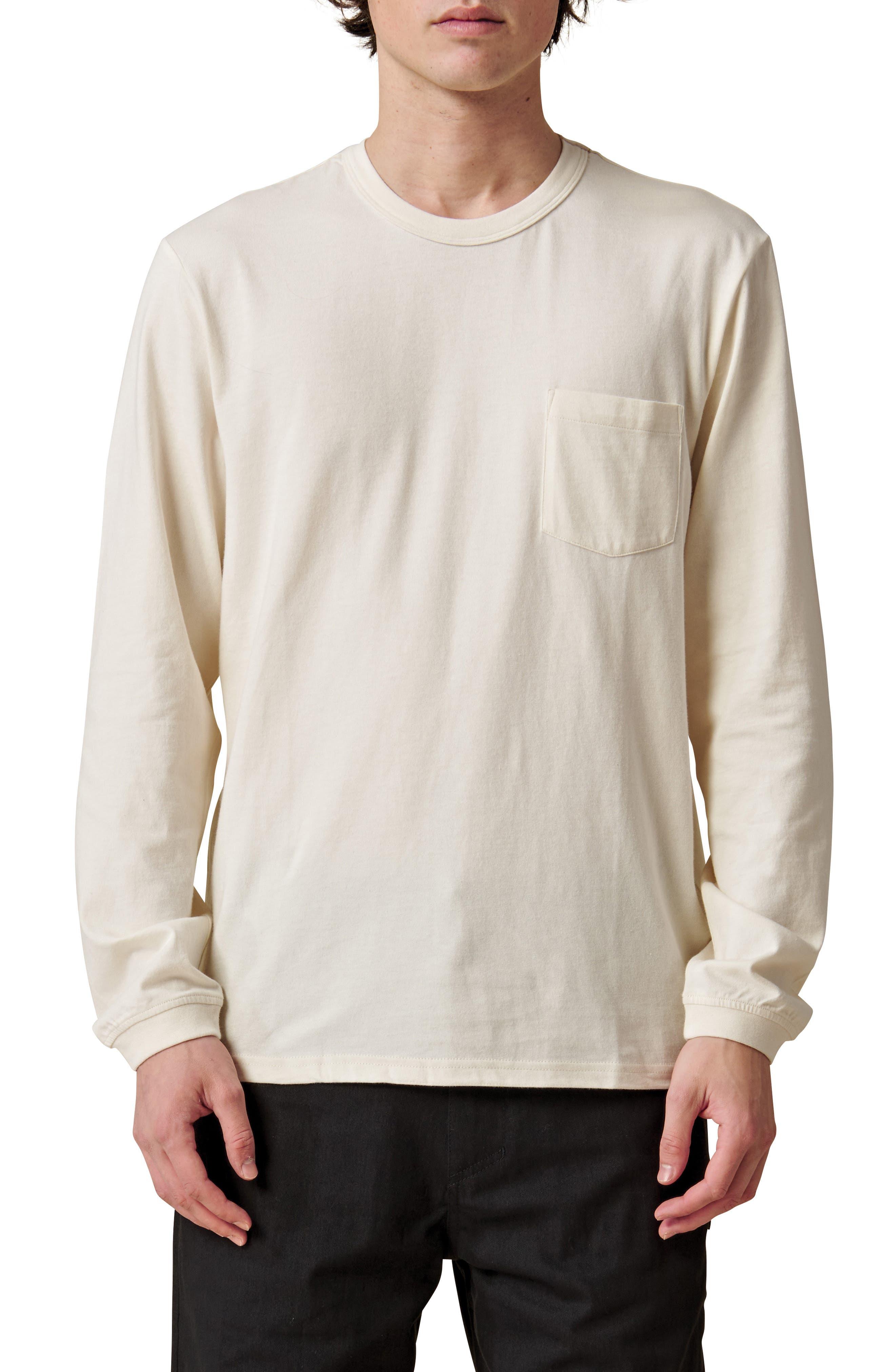 Every Damn Day Long Sleeve Pocket Organic Cotton T-Shirt