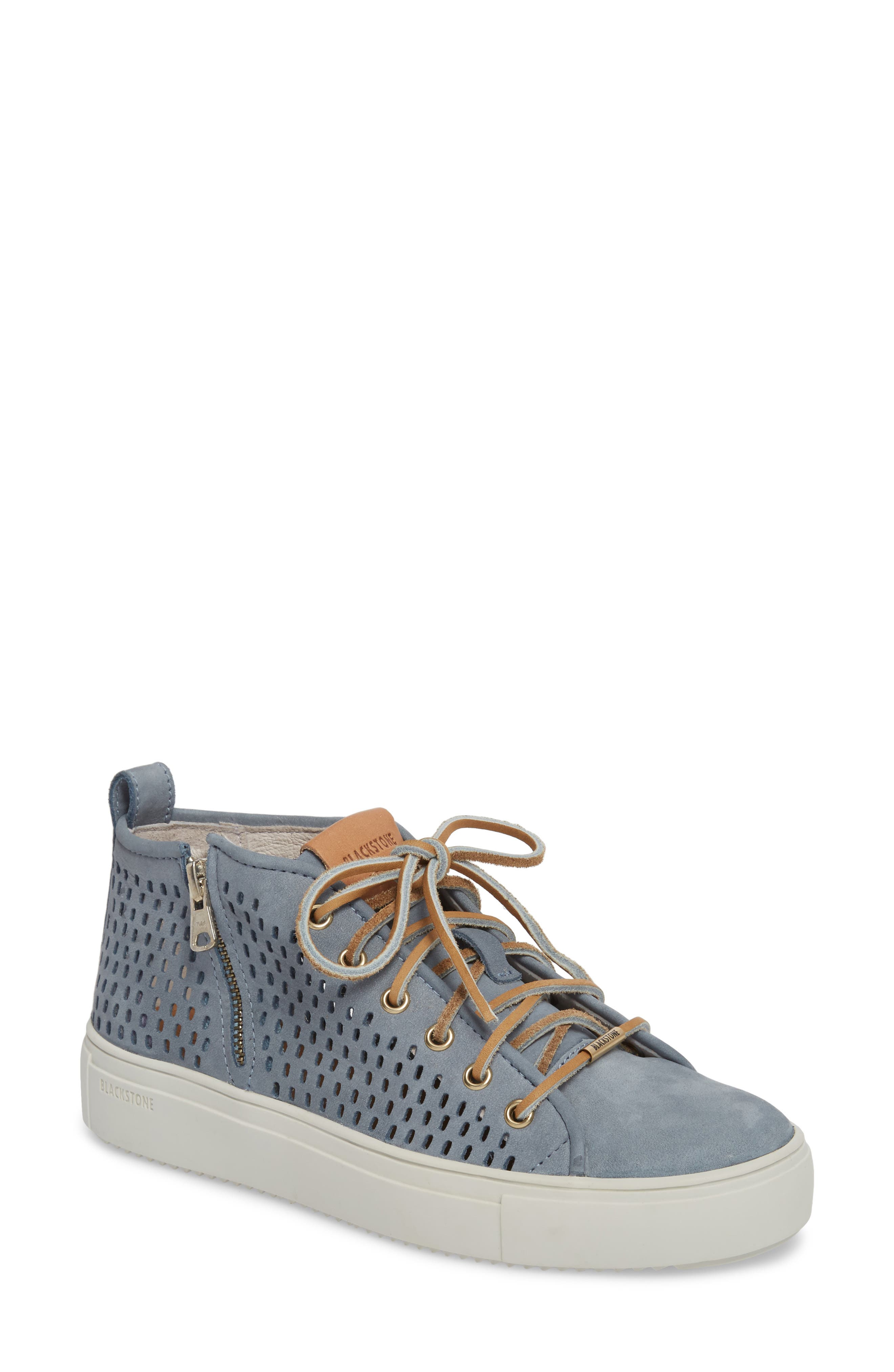 Blackstone Pl88 Zipper Sneaker Blue