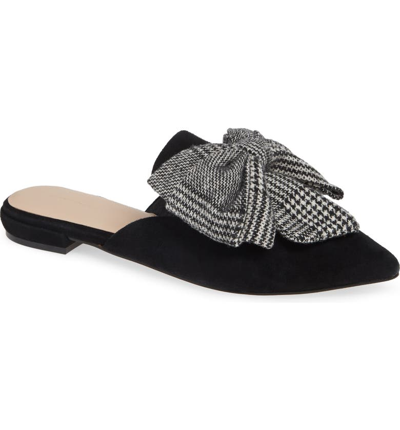 SOMETHING NAVY Avenue Bow Mule, Main, color, 001