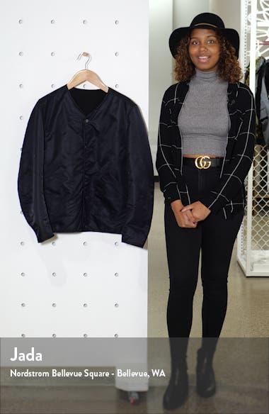 Reversible Liner Faux Shearling Jacket, sales video thumbnail