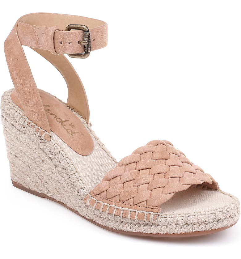 SPLENDID Tasman Woven Espadrille Sandal, Main, color, TAN SUEDE