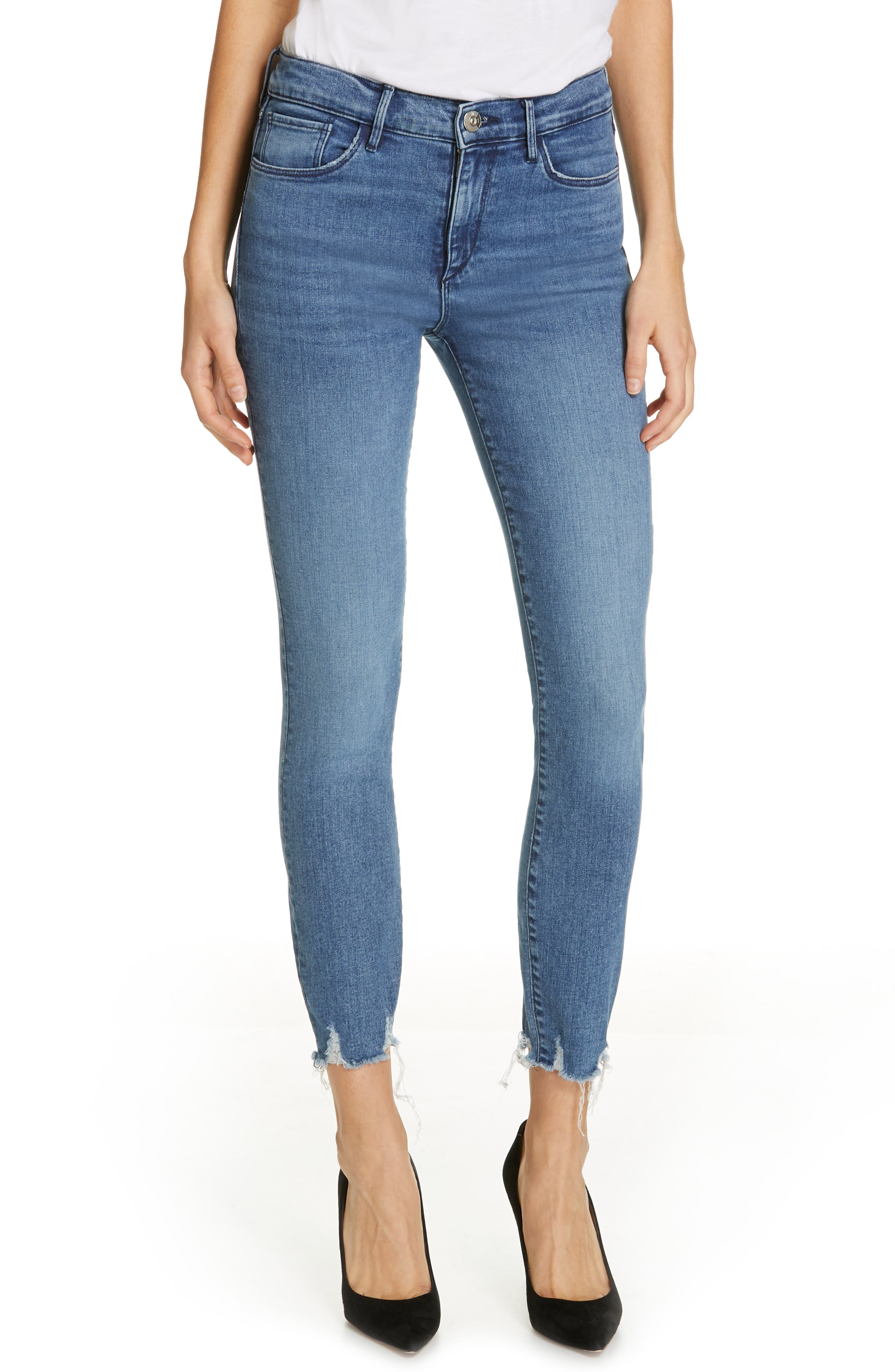 Ankle Skinny Jeans, Main, color, ELIZA