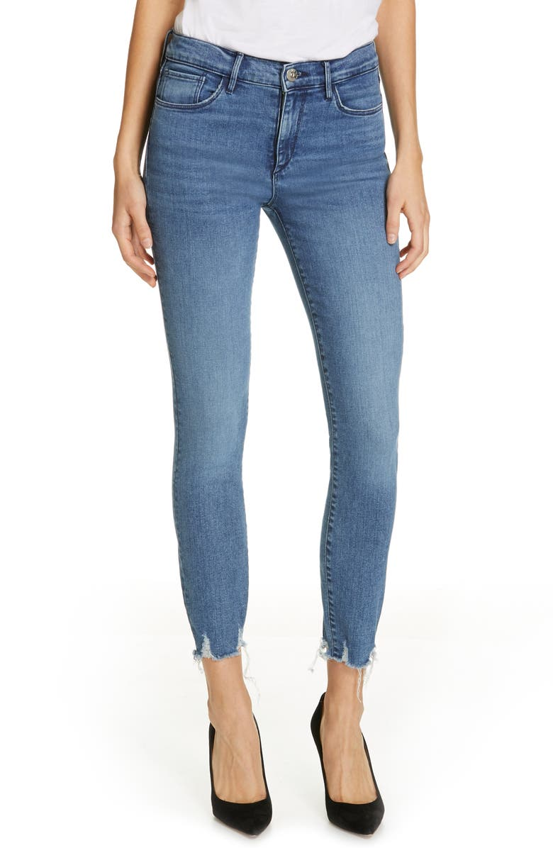 3X1 NYC Ankle Skinny Jeans, Main, color, ELIZA