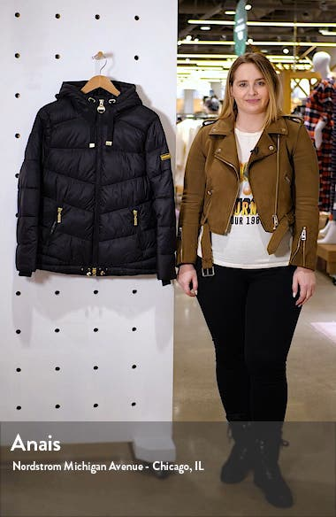 Brace Quilted Puffer Jacket, sales video thumbnail
