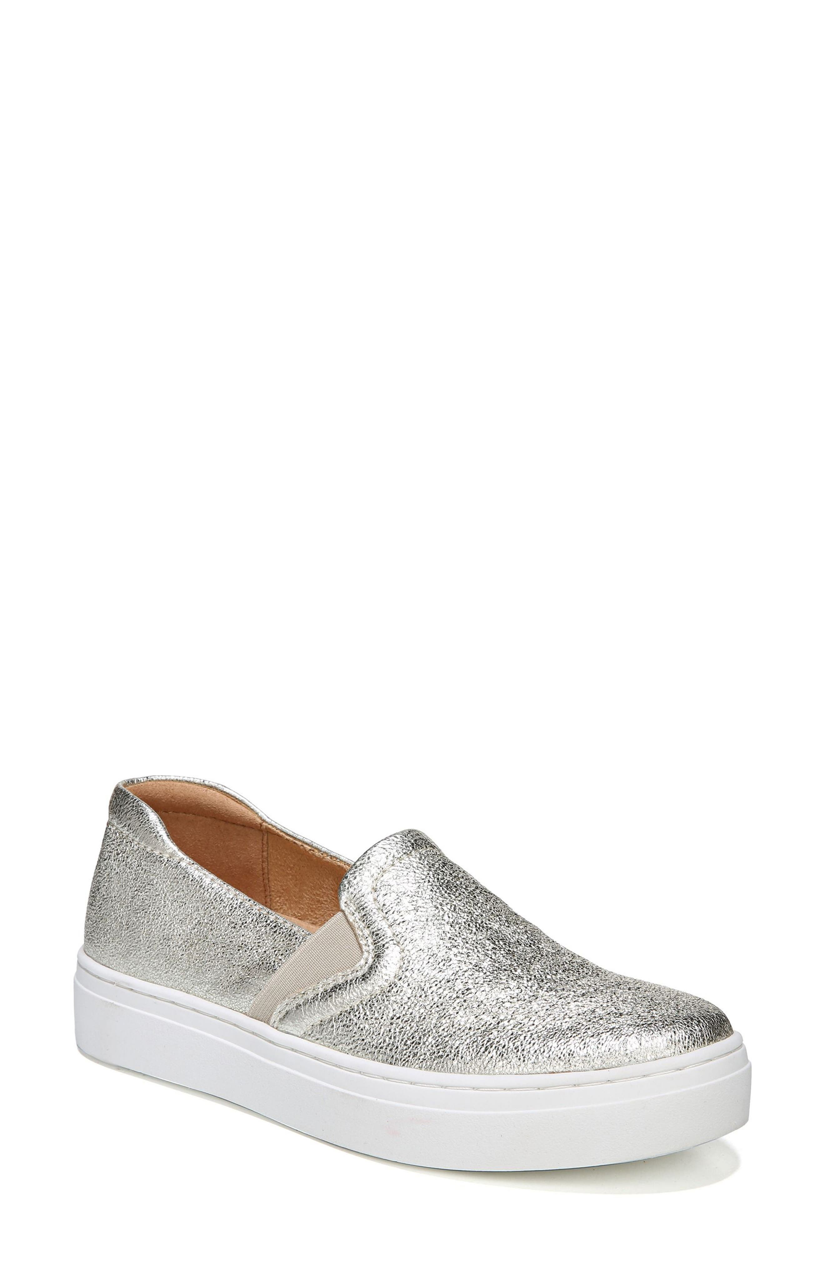 Naturalizer Carly Slip-On Sneaker- Metallic