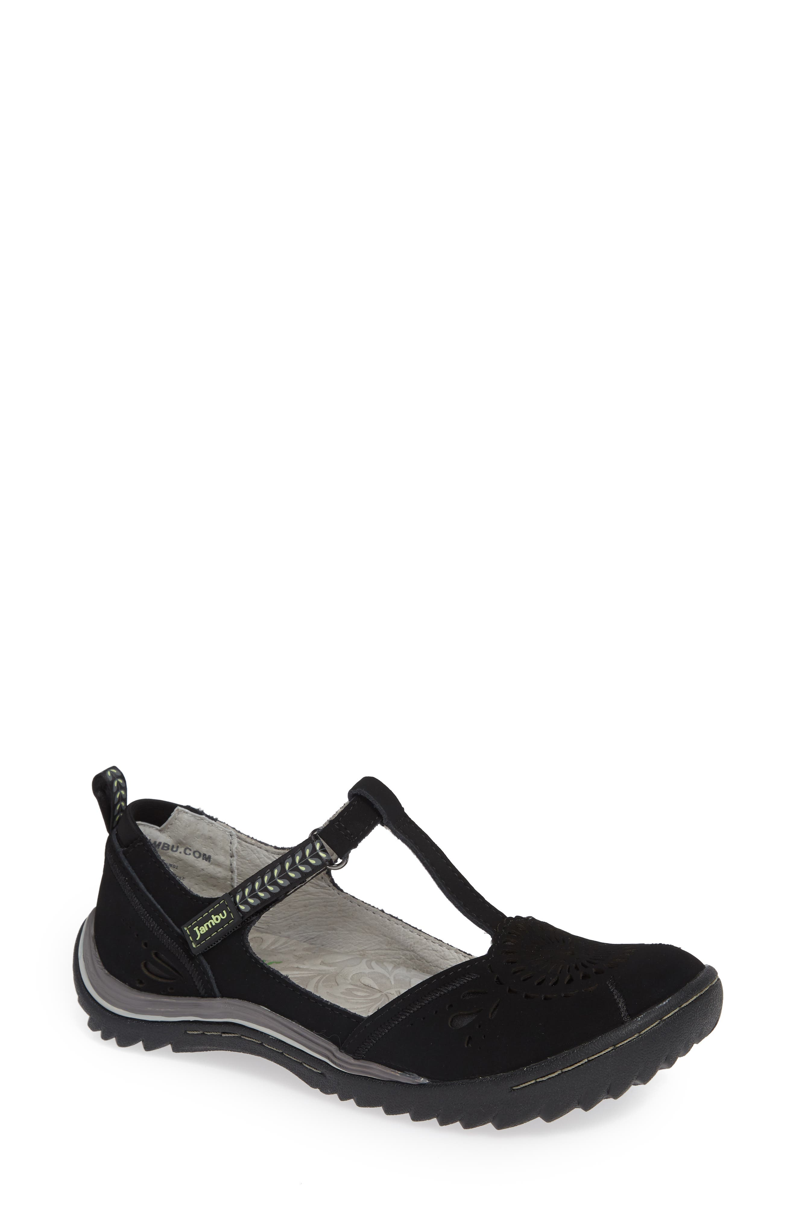 Jambu Sunkist Strappy Sneaker, Black