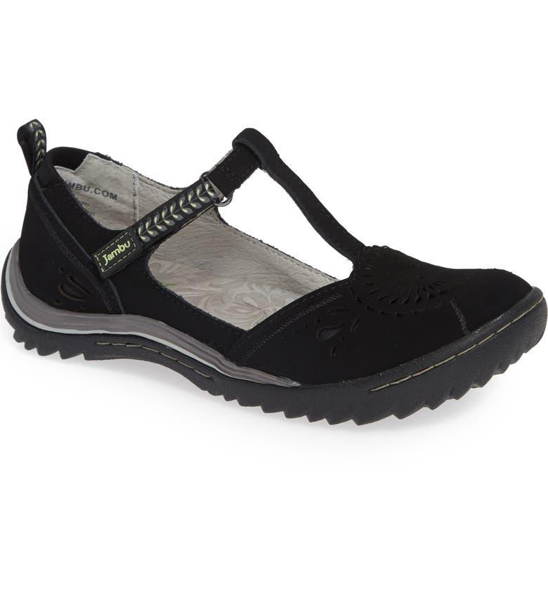 JAMBU Sunkist Strappy Sneaker, Main, color, BLACK/ CHIVE NUBUCK LEATHER