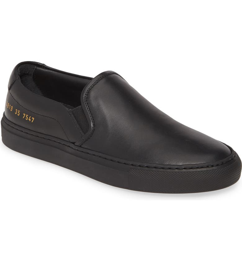 COMMON PROJECTS Slip-On Sneaker, Main, color, BLACK