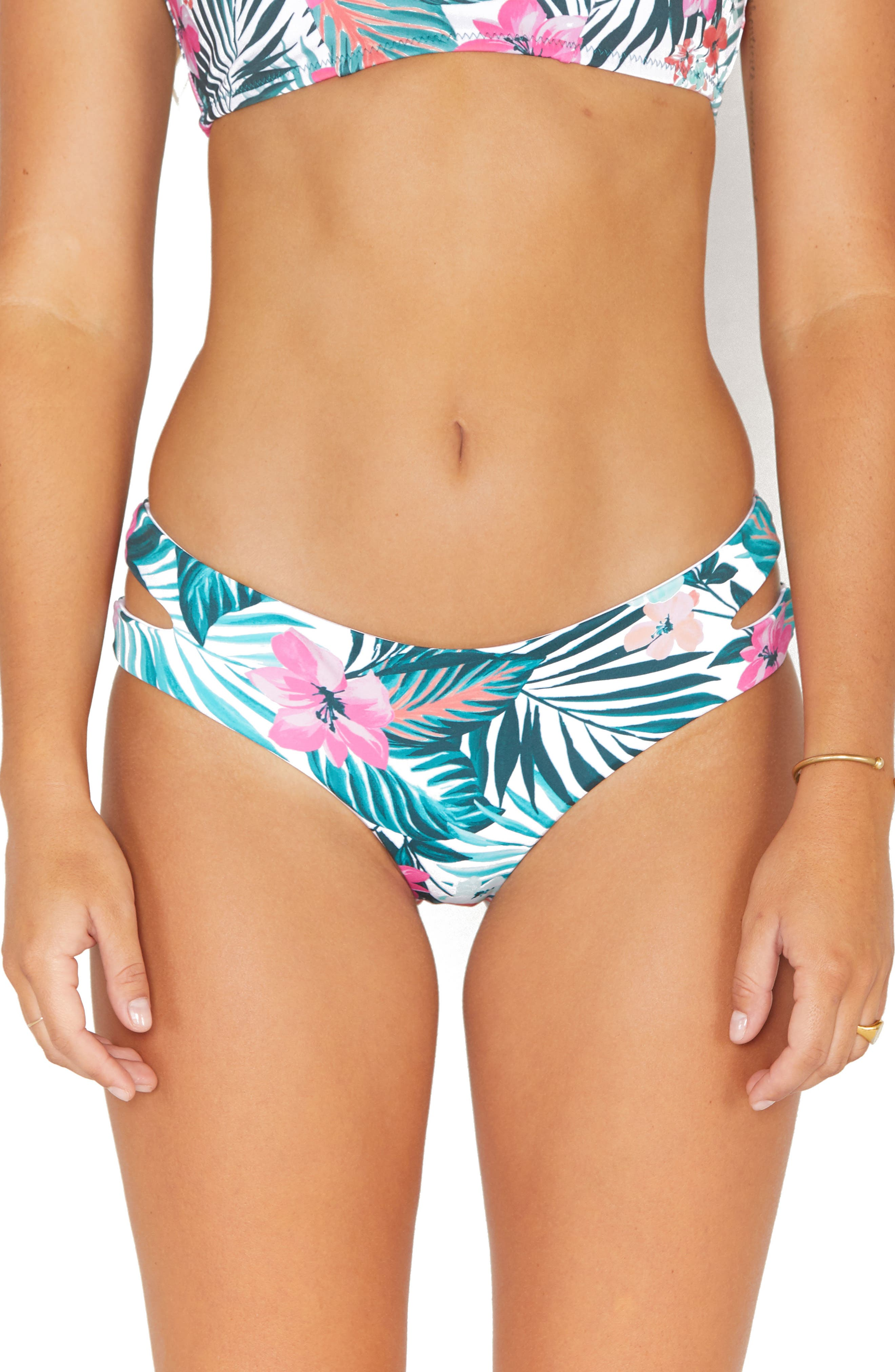 Max Hawaii Hideaway Slit Bikini Bottoms