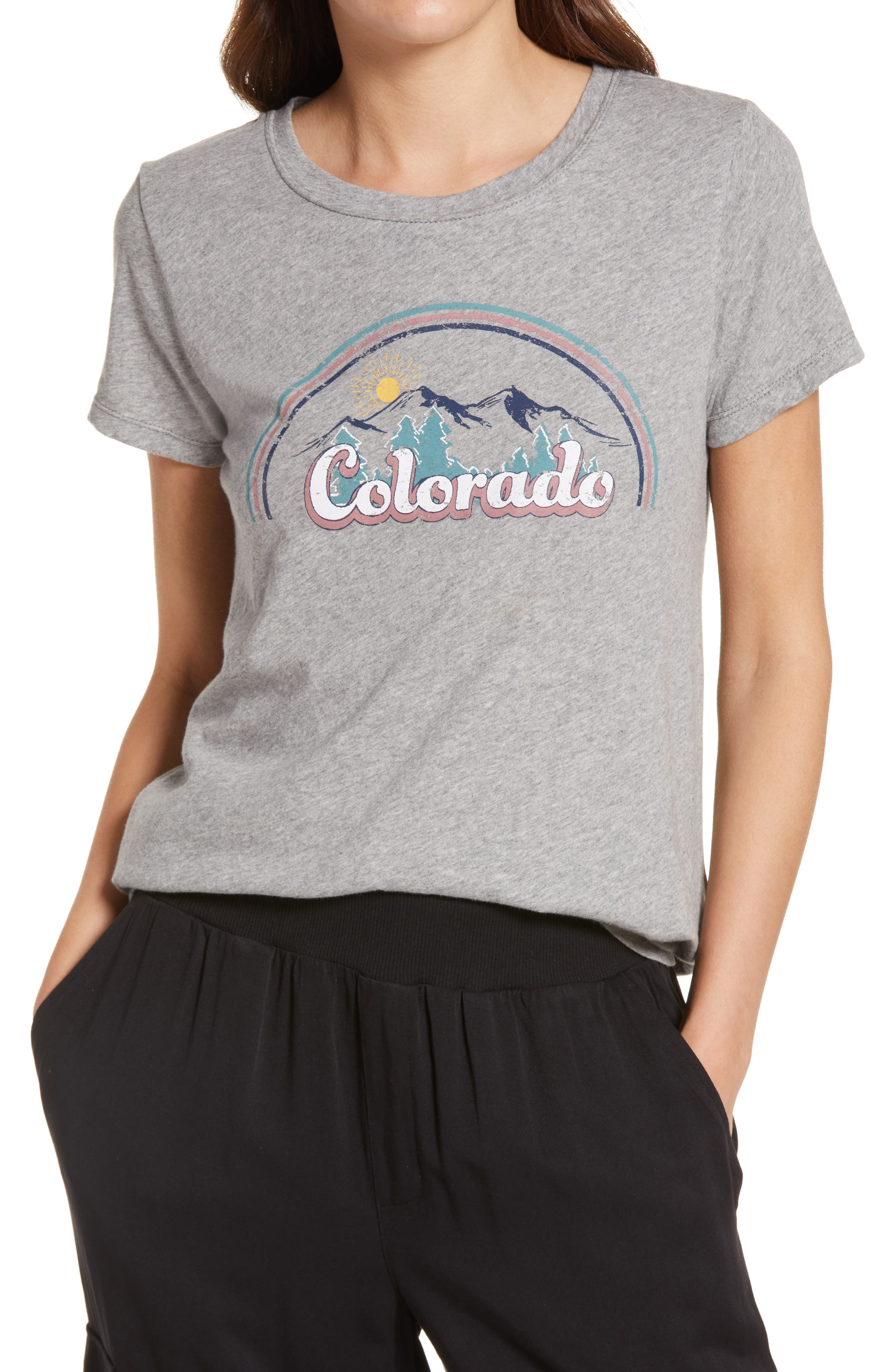 Julia Colorado Graphic Cotton Tee