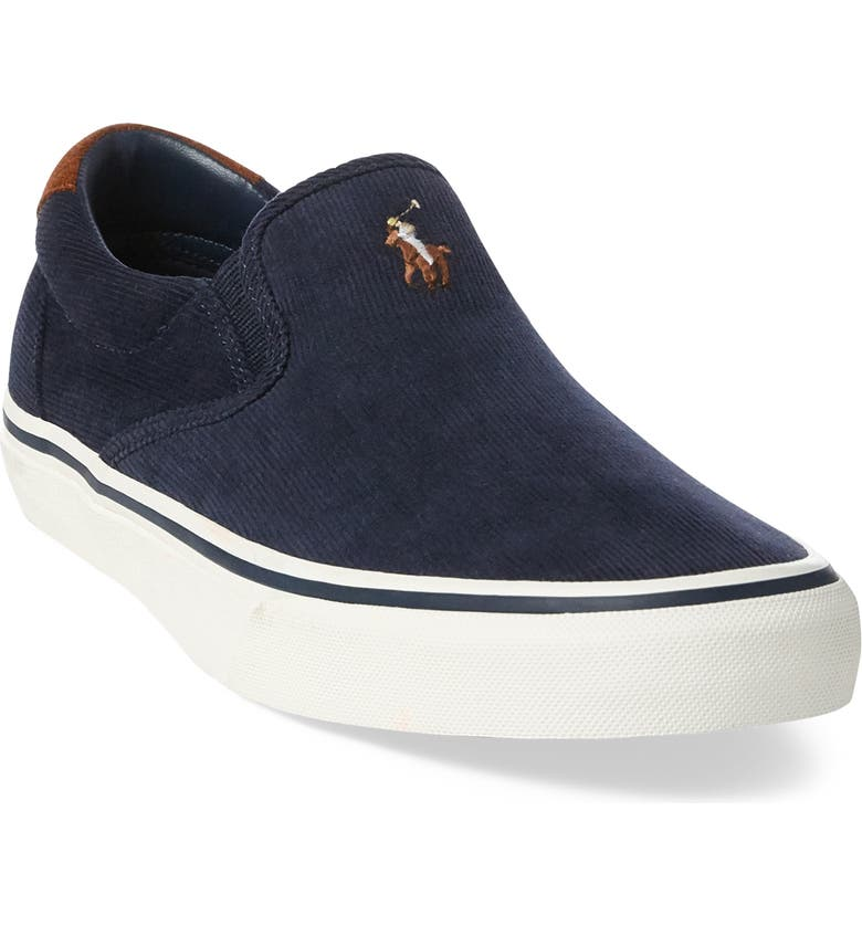 6b8ccef4 Polo Ralph Lauren Thompson Corduroy Slip-On Sneaker (Men) | Nordstrom