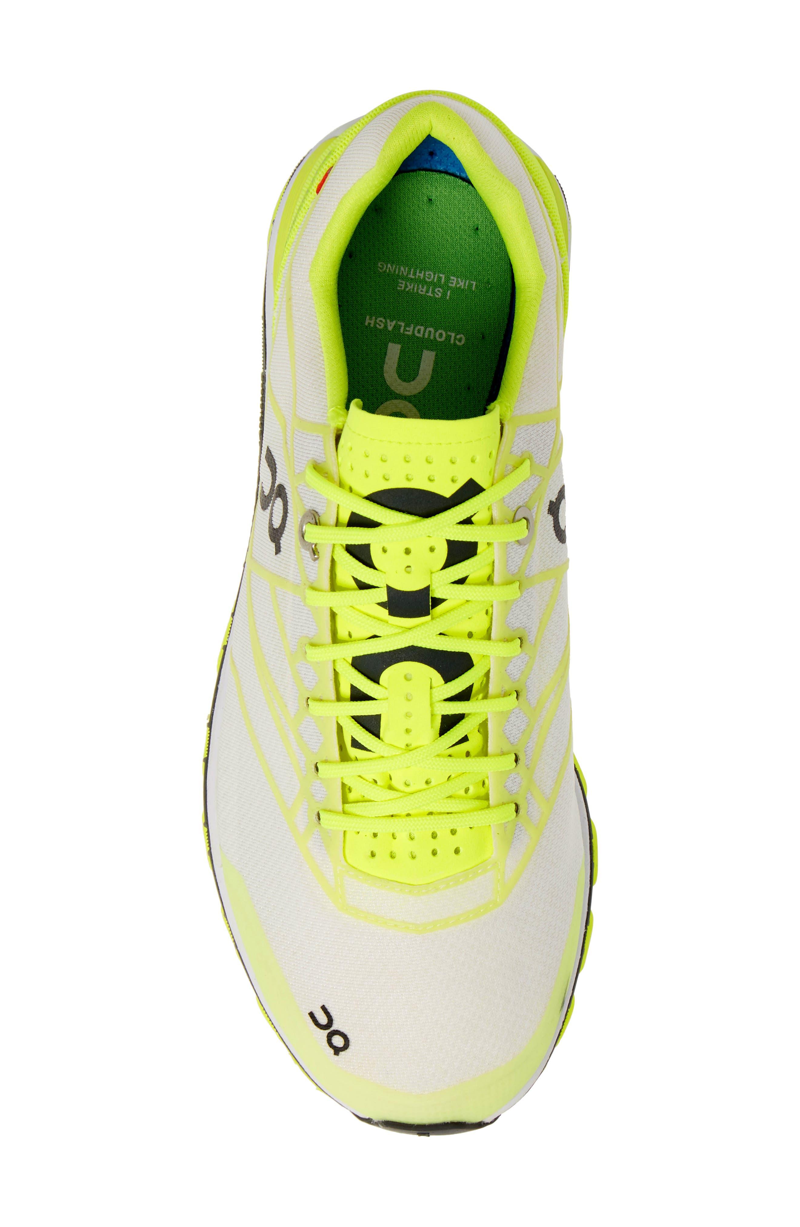 ,                             Cloudflash Racing Shoe,                             Alternate thumbnail 5, color,                             NEON/ WHITE
