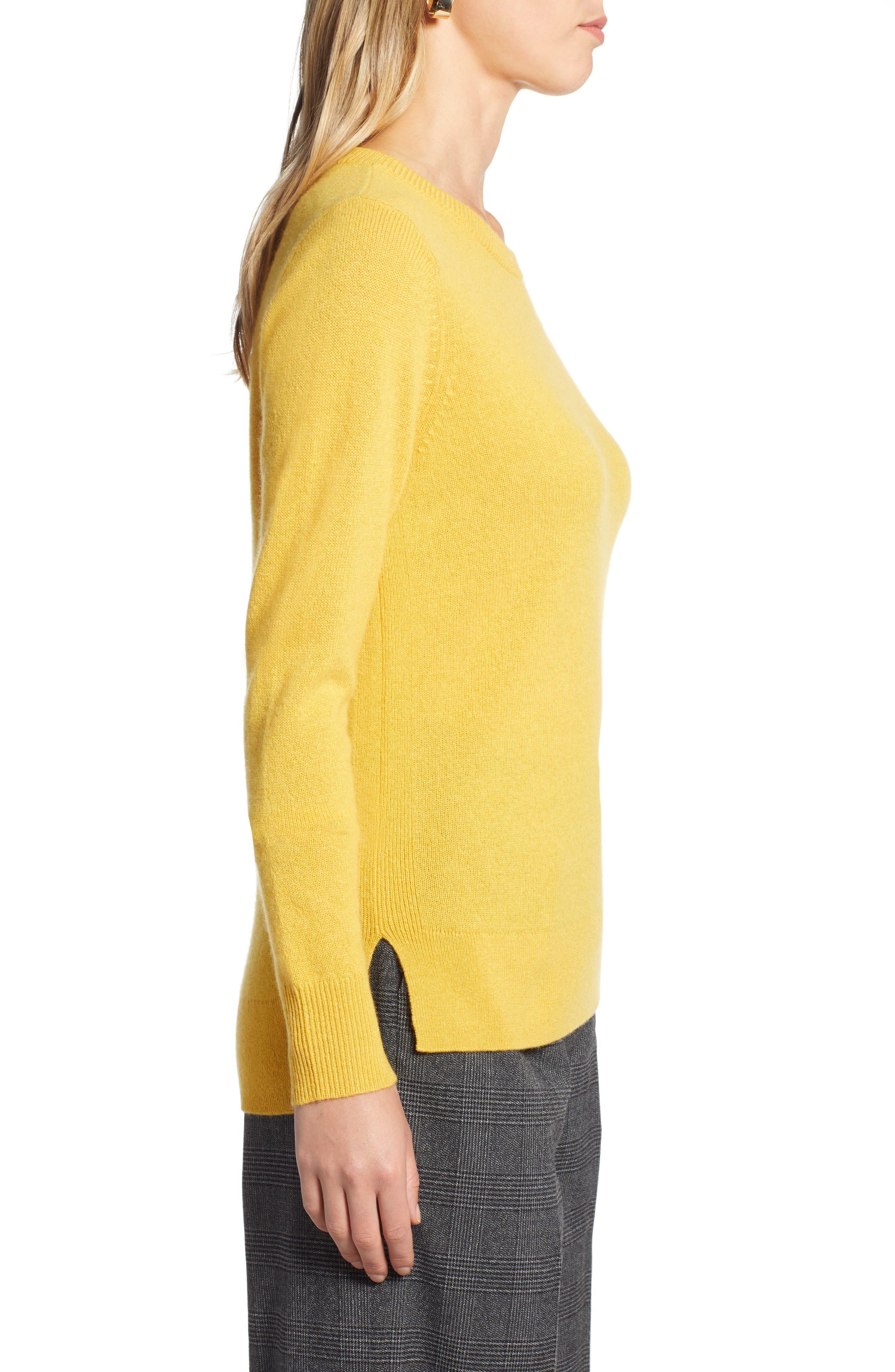 ,                             Crewneck Cashmere Sweater,                             Alternate thumbnail 223, color,                             720