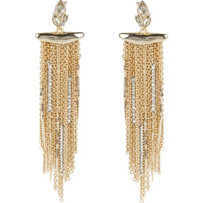 Alexis Bittar Navette Chain Drop Earrings