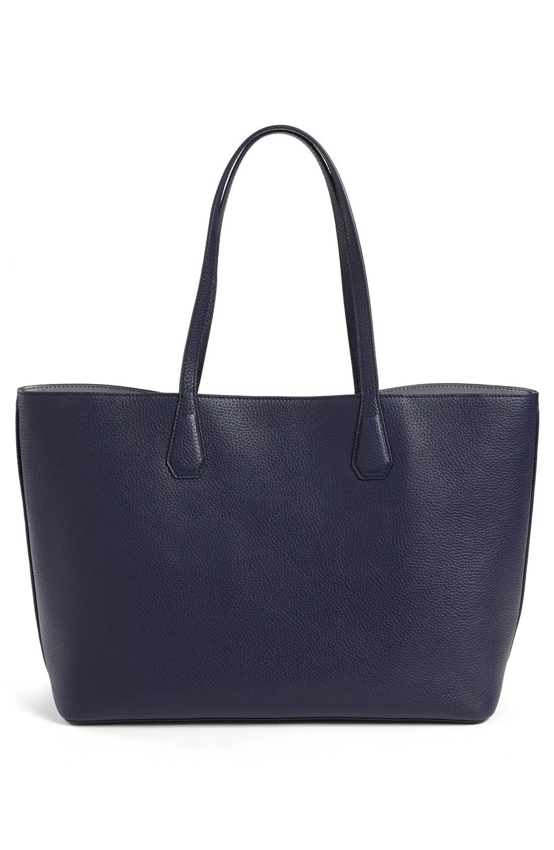 ,                             'Perry' Leather Tote,                             Alternate thumbnail 15, color,                             400